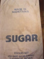 Sugar sack from the U&I Sugar Company.