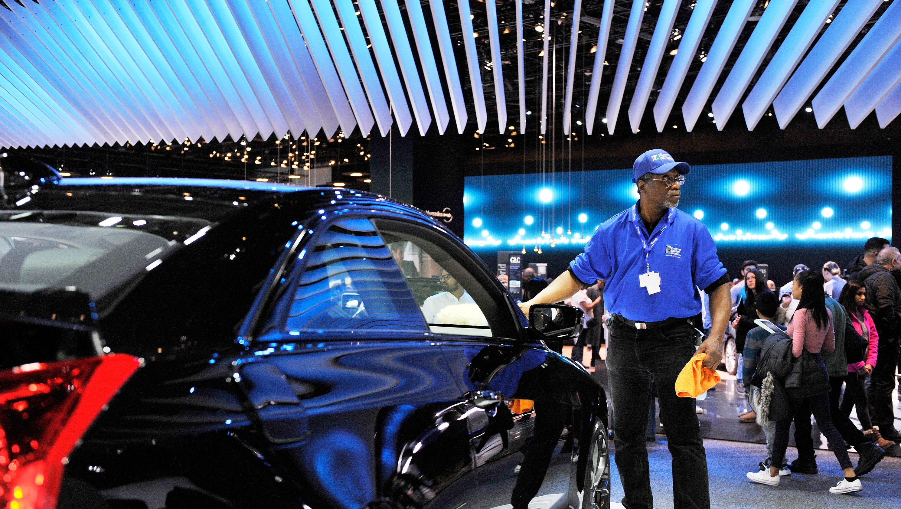 Opening Weekend Of The 2017 Detroit Auto Show