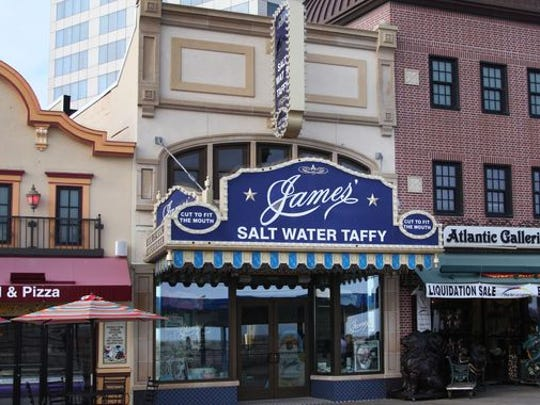 Salt water taffy from James' is the perfect Atlantic