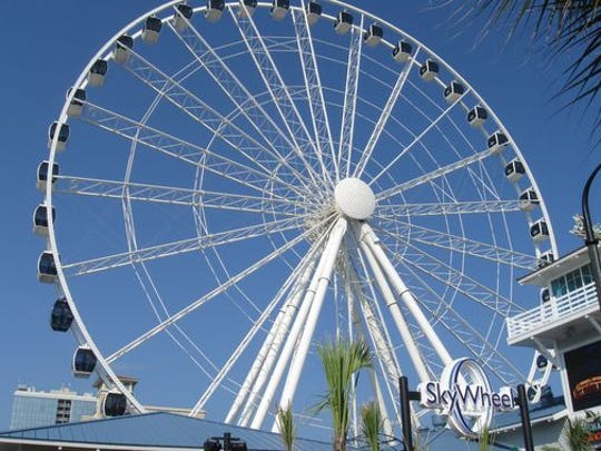 A picture of the Koch Industries-developed Myrtle Beach SkyWheel.