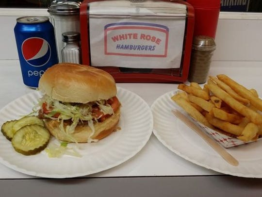 White Rose Hamburgers has locations in New Brunswick