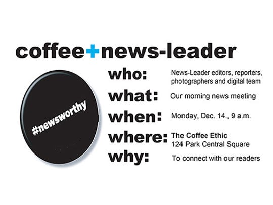 Coffee+News-Leader is coming to The Coffee Ethic.