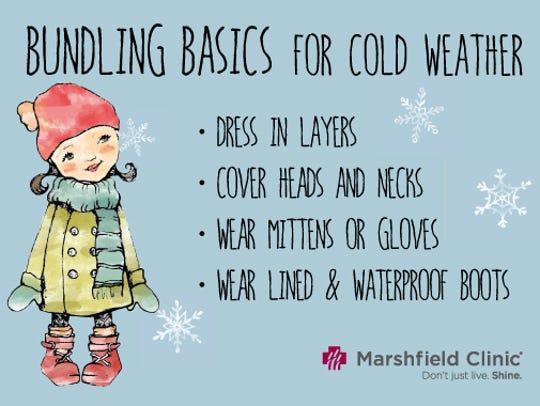 Bundling basics for cold weather