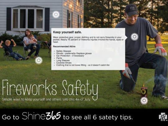 Keep fireworks shows happy, not hazardous