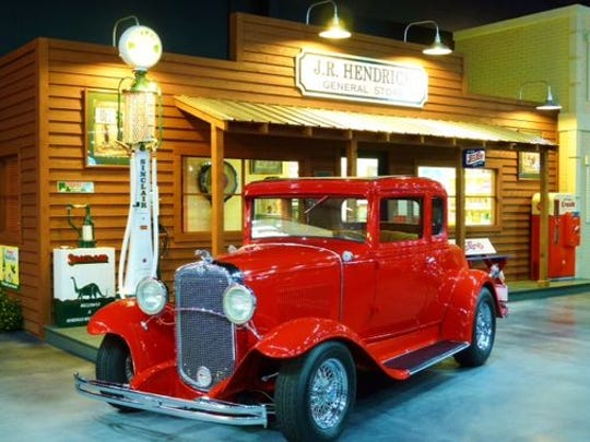 Rick Hendrick and his father rebuilt this 1931 Chevrolet together in a converted building behind his grandfather's store when Hendrick was 15.