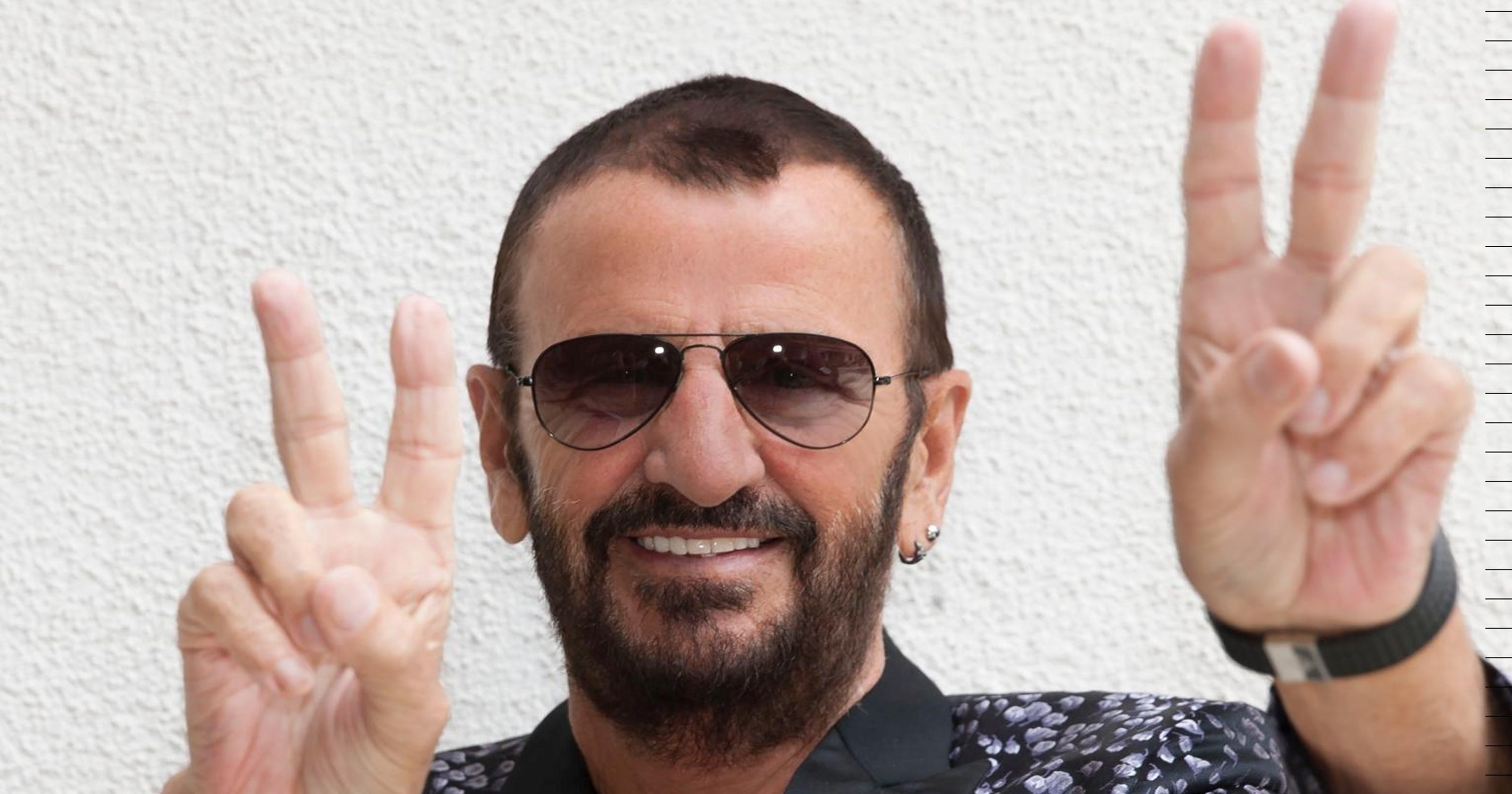 At 75 Ringo Starr Still Spreads Peace And Love
