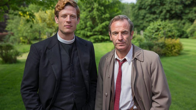 """James Norton and Robson Green star in """"Granchester."""""""