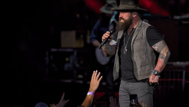 Zac Brown performs Friday at Klipsch Music Center.