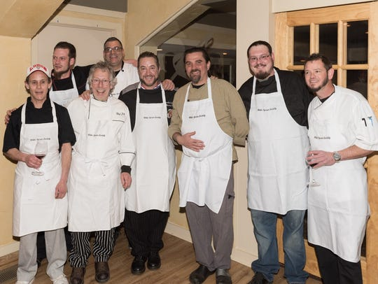 The chefs of The White Apron Society serve their community