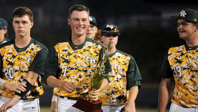 Jon Merrill was the winning pitcher for Reynolds on Tuesday night.