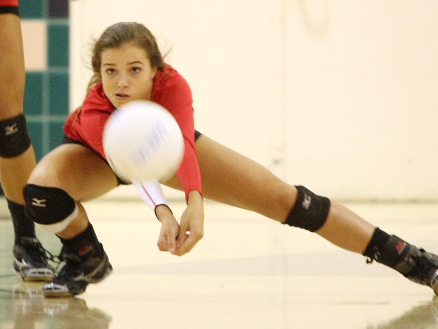 Palm Springs' Mary Lake was named the Desert Valley League volleyball most valuable player.