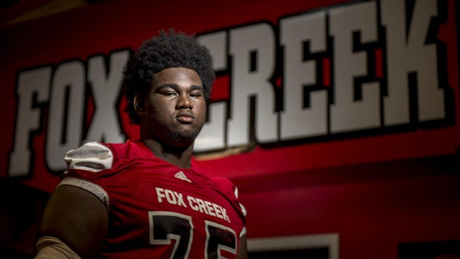 Fox Creek's Nick Williams photographed at Fox Creek High School Wednesday afternoon August 19, 2020 in North Augusta, SC.