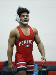 Penfield's Frankie Gissendanner was a four-time state champion.