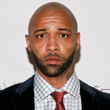"""Cast member Joe Budden appears at the VH1 """"Love & Hip Hop"""" Season 4 Premiere at Stage 48 on October 28, 2013 in New York City."""
