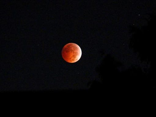 blood moon today in texas - photo #13