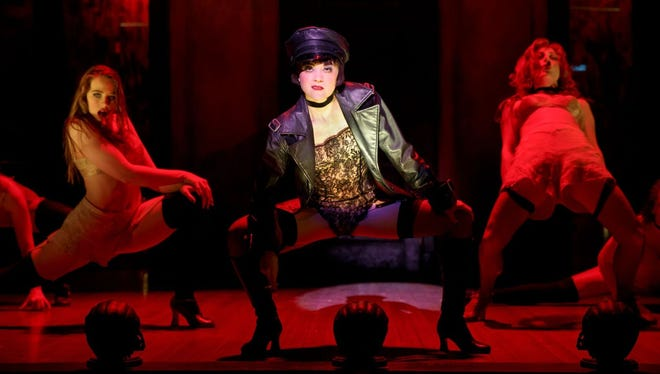 """Andrea Goss stars as Sally Bowles in the national tour of """"Cabaret."""""""