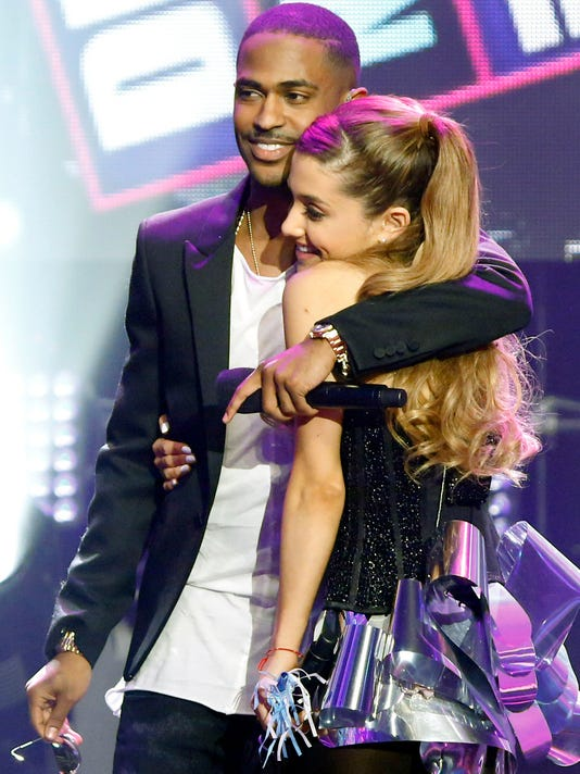 Ariana Grande with Big Sean
