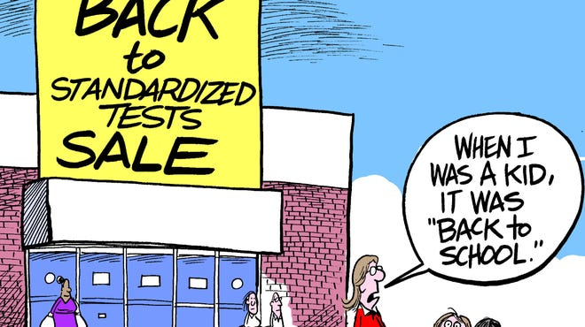 Standardized tests are hot back-to-school item.