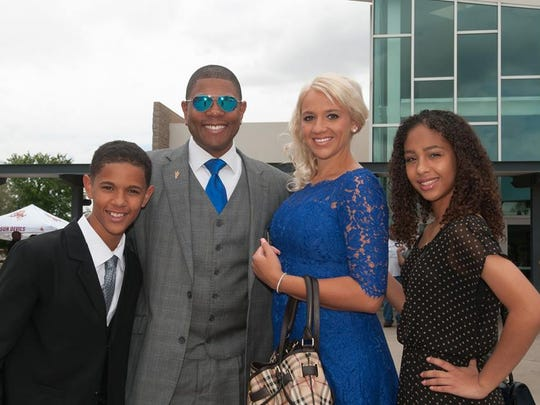 Matthew C. Whitaker, an ASU professor, and his family.