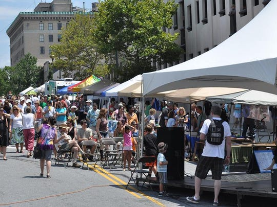 A scene from VegFet past.