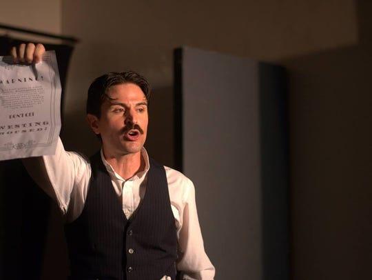 "Shows like ""Tesla Ex Machina"" give actor Ricky Coates"