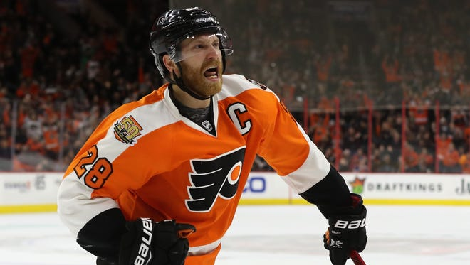 The Flyers captain is showing signs of old after offseason surgery claimed a lot of his season.