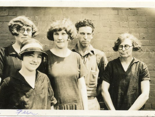 Dora Lehman Barnes - millworker 1