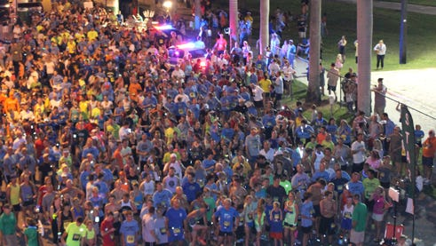 Cops & Joggers event in Fort Myers.
