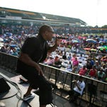 File photo of MERJ performing at Summerfest at Sahlen's Stadium in Rochester.