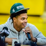 Miles Bridges committed to Michigan State's basketball program Saturday.