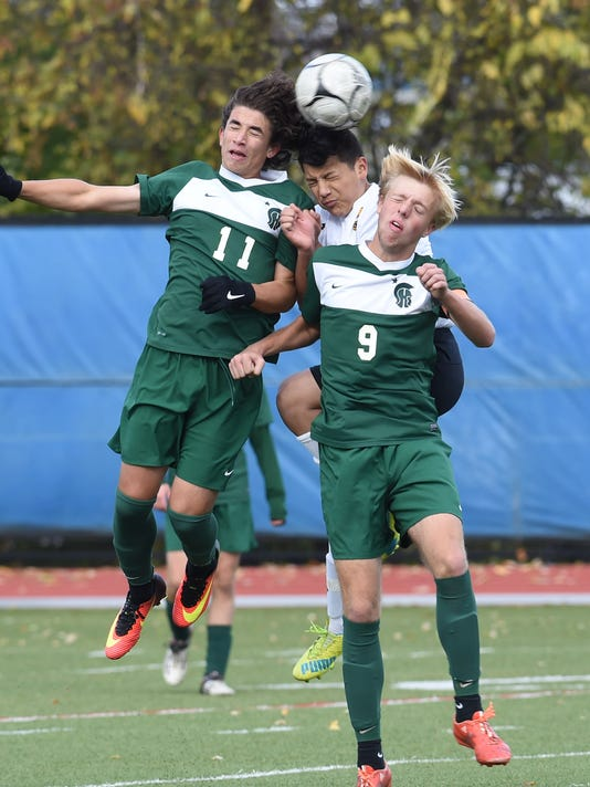 Boys soccer, Spackenkill v. Fallburg