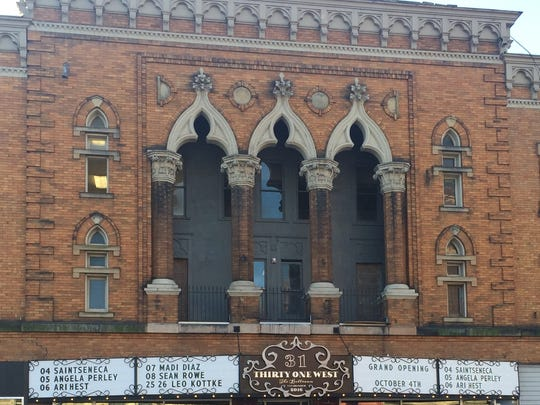Tom Atha restored this West Church Street Building for his Thirty-One West entertainment venue.