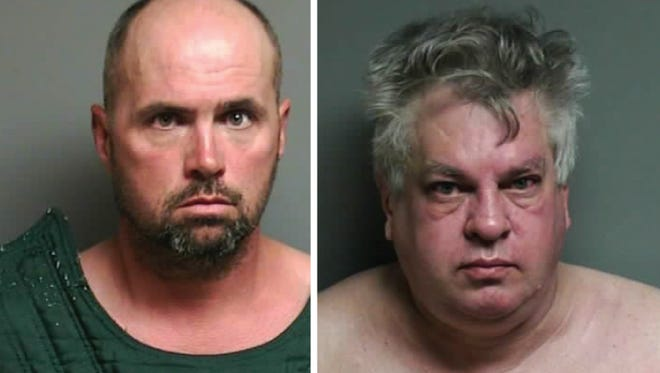 Scott Hartwell, left, and Thomas Sturner have been arrested in separate investigations.