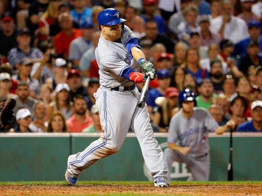 USP MLB: TORONTO BLUE JAYS AT BOSTON RED SOX S BBA BOS TOR USA MA