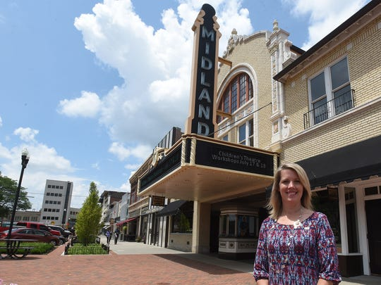 Cheri Hottinger, treasurer of the Downtown Newark Special Improvement District, believes the new district will help make downtown even more attractive to businesses and customers.