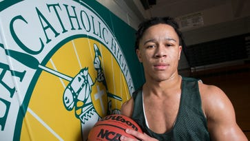 Nickerson sets tone on both ends for unbeaten Pensacola Catholic