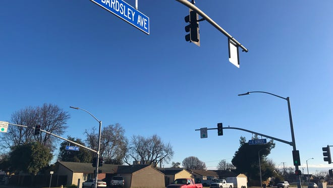 Tulare police are investigating a shooting near Bardsley Avenue and E Street.