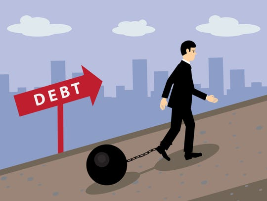 Improve your life by getting out of debt today