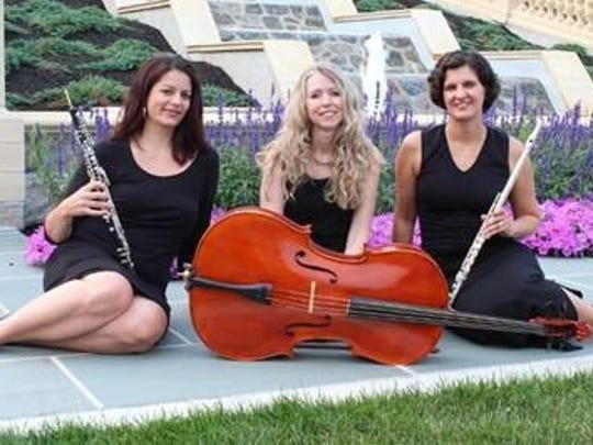The Silverwood Trio will perform Sunday, Oct. 1, at