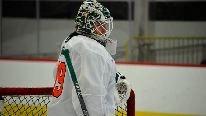 The hype has been building for three years about Carter Hart being the Flyers franchise goalie. He finally turns pro this fall.