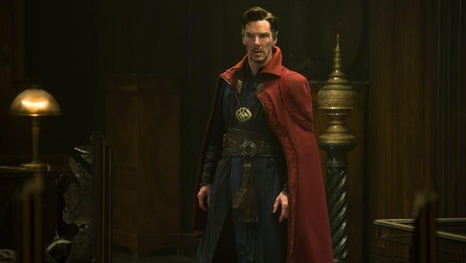 Benedict Cumberbatch makes his debut as Stephen Strange in 'Doctor Strange.'