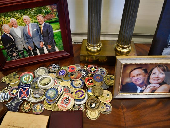 Gov. Bill Haslam's private office at the state Capitol
