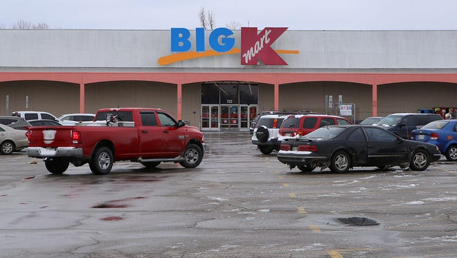 Kmart is seen in Jackson, Tenn., on Friday, Jan. 6, 2017.