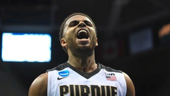 Boilermakers guard P.J. Thompson will play his final game at Mackey Arena on Sunday.