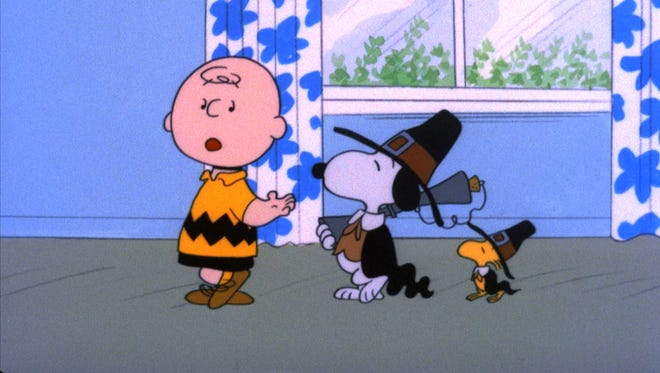 A still from 'A Charlie Brown Thanksgiving.'