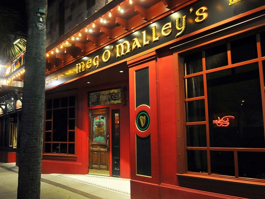 Meg O'Malley's in downtown Melbourne.