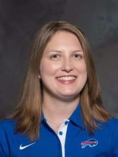 The Bills hired the first full-time female coach on Wednesday, naming Kathryn Smith to the special teams staff.