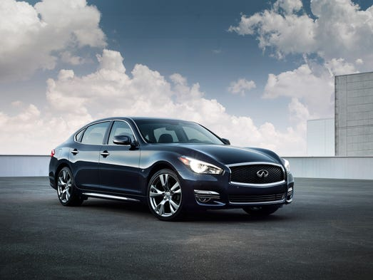With a fresh new look and available long wheelbase version, the new 2015 Infiniti Q70 targets a new vehicle class