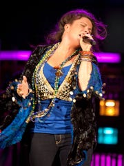 """Mary Bridget Davies plays the title role in """"A Night with Janis Joplin,"""" which comes Oct. 9 to the Visalia Fox Theatre. Davies, who was nominated for a Tony for the role, performs such songs as """"Cry Baby,"""" """"Me and Bobby McGee,"""" and """"Piece of My Heart."""""""