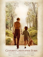"""Goodbye Christopher Robin"" tells the backstory of A.A. Milne's Winnie the Pooh books, which were later turned into a popular Disney movie."